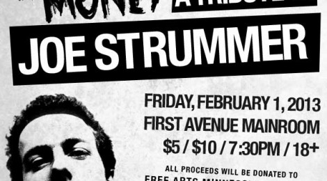 Jim Ruiz Set performs at Joe Strummer Tribute Fri Feb 1