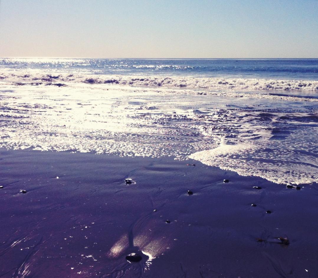 unslanted ocean