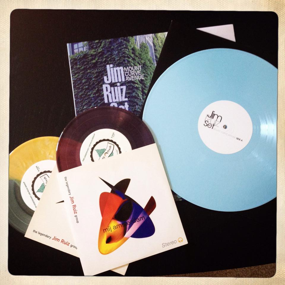 Kevin Lien's Collection of Jim Ruiz Colored vinyl