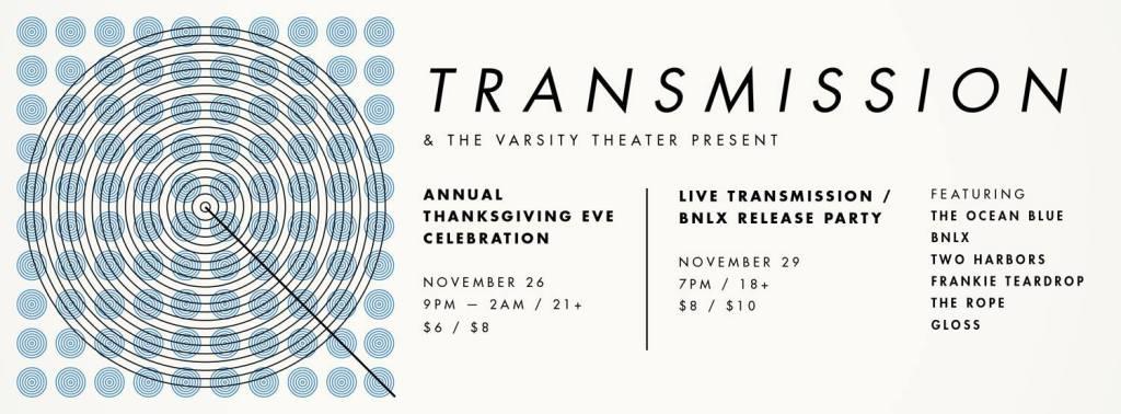 Live Transmission Banner