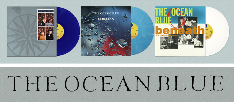 THE OCEAN BLUE Sire Vinyl Out NOW