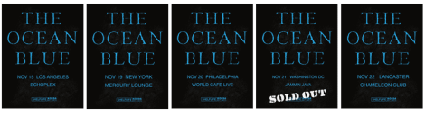 THE OCEAN BLUE Performing Cerulean and Debut Albums In Concert